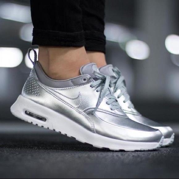 Nike Shoes   Nike Air Max Thea Metallic